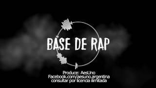 LA MEJOR BASE DE RAP FREESTYLE #15 - HIP HOP BEAT INSTRUMENTAL - MELANCÓLICA - ALTA CALIDAD [2017] thumbnail
