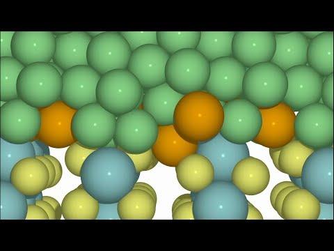 Metallic Contact between Molybdenum Disulfide and Nickel via Gold Nanoglue