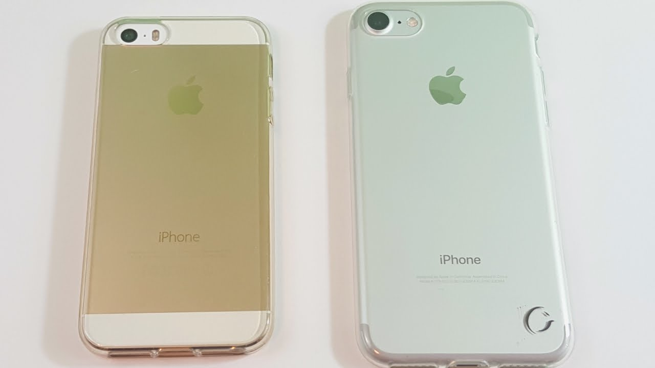 how big is an iphone 5 iphone 5s vs iphone 7 should you upgrade 18425