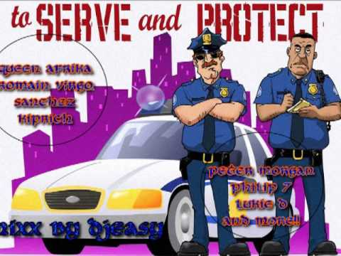 Serve and Protect Riddim (penthouse music) mega mix by djeasy
