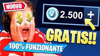 COME AVERE 2.500 V-BUCKS GRATIS!! *ICE STORM EVENT* Fortnite ITA