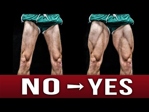 Say NO to Chicken Legs! | Bodyweight Leg Workout |