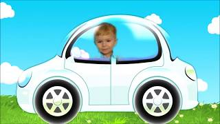 We Are in the Car Song  Nursery Rhymes #2