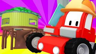 Kleinen Trucks   Das Baumhotel - Lerne mit den kleinen Trucks 👶 🚚 Lehrreiche Cartoons für Kinder
