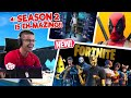 Nick Eh 30's FIRST REACTION to Fortnite Season 2! Chapter 2