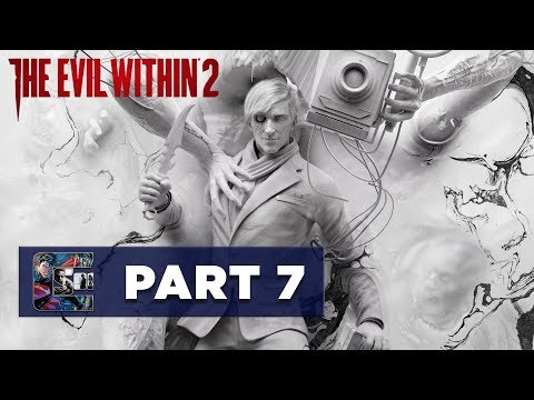 """The Evil Within 2 - Walkthrough / Let's Play - PART 7 - Chapter 4 """"Behind the Curtain"""" 1/2"""