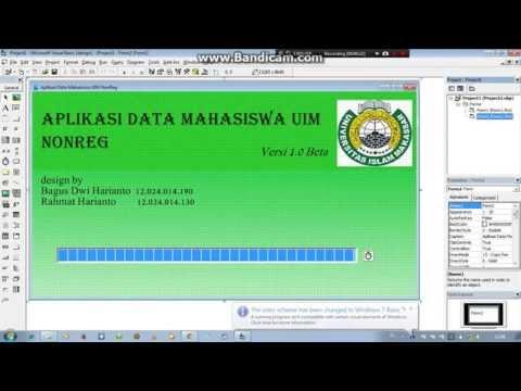 interface program database sederhana dengan visual basic