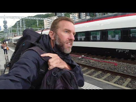 A European Train Journey | Italy To Switzerland