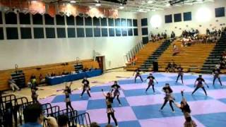 "Jupiter High School Winter Guard 2011 ""Dog Days Are Over"""
