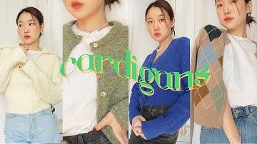CARDIGANS 🍂 요즘 입으면 딱인 8가지 취향듬뿍 가디건들 🐿 (너 - 무 - 예 - 뻐 🤯)