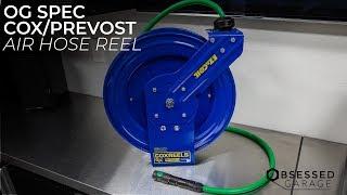 OG Spec Cox/Prevost Air  Hose Reel Solution