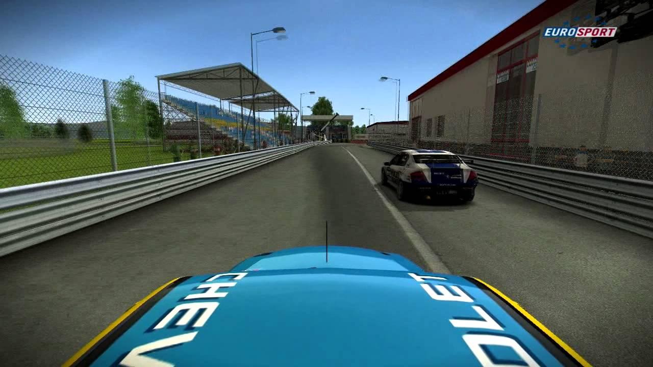 Race 07, Online race - Chevrolet Lacetti @ Vara Raceway - YouTube
