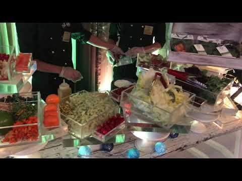 DelhiBakers SuperFood Salad Station.