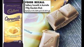 Cadbury recall after PLASTIC was found Caramilk bars