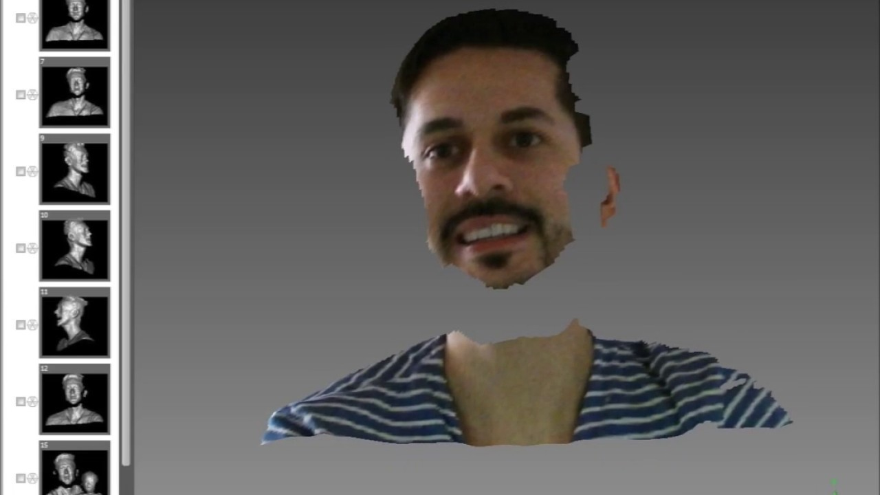 Face Scan With Kinect V2