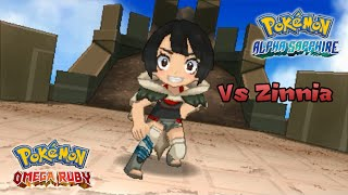Pokemon Omega Ruby/Alpha Sapphire - Battle! Zinnia (HQ)