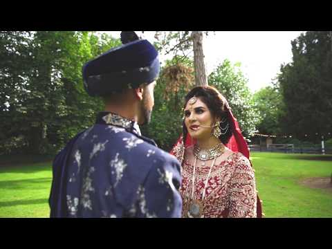 Zaraa & Mohsin Barath Cinematography Pakistani Wedding Nottingham
