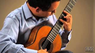 Rafael Elizondo Plays Tarrega Prelude No. 2 on an 1862 Torres