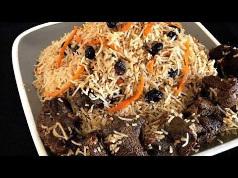 How To Make Kabuli Pulao / Afghani Pulao / Kabli Pulao (Afghanistan) Eid Special (English Subtitles) thumbnail