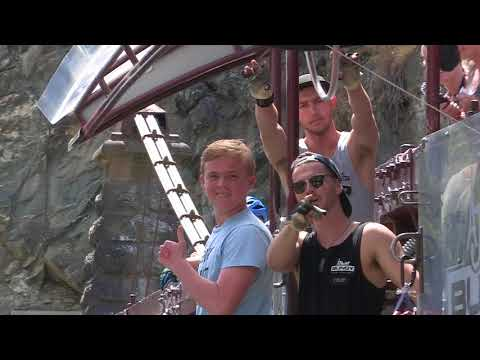 henry elliott first bungy video new zealand 2017