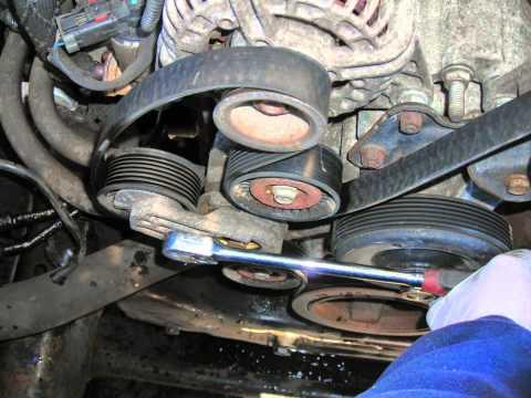 How To Replace Waterpump Thermostat Belt Radiator Hoses 2004    Dodge       Ram    1500    57       Hemi    4x4