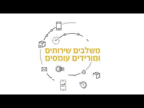 Gett Delivery & Israel Post