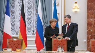 Зустріч Порошенко-Меркель і санкції проти Росії | «Ваша Свобода»