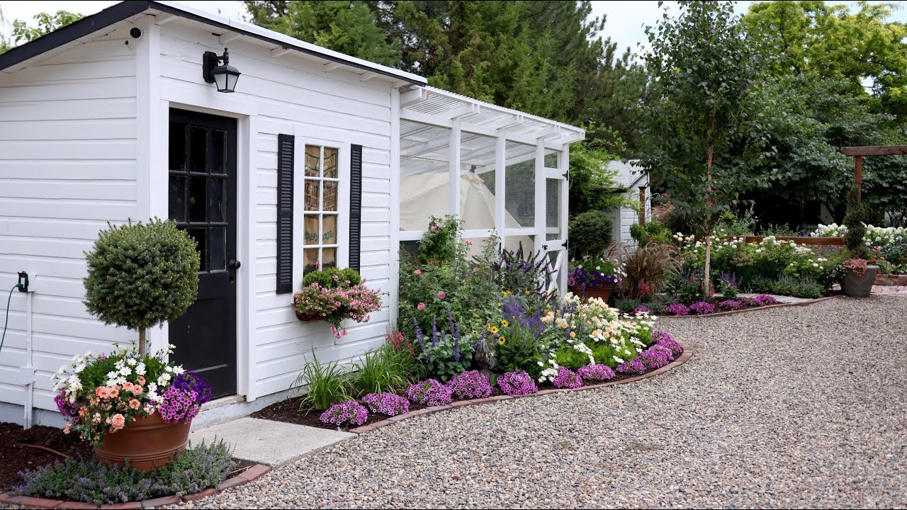 Mini Garden Tour Garden Answer Youtube