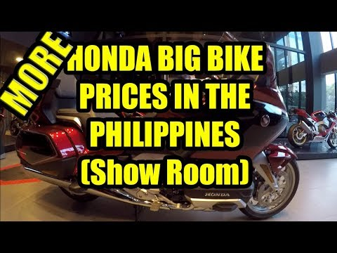 More Honda Big Bike Prices In The Philippines (Show Room)