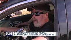 Bed bug concerns at Garden City High School