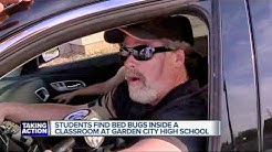 Bed bug concerns at Garden City High School