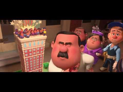wreck it ralph /Destroy the cake