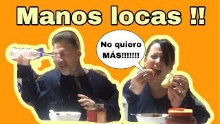 MANOS LOCAS CHALLENGE !!! RETO DIVERTIDO