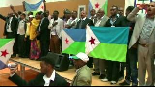 Hymne national de Djibouti 27Juin 2012 en Holland