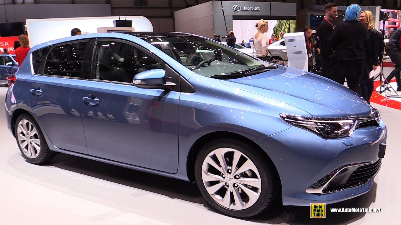 2016 toyota auris exterior and interior walkaround 2015 geneva motor show youtube. Black Bedroom Furniture Sets. Home Design Ideas