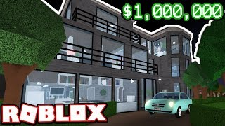 $1,000,000 MODERN NEW YORK CITY APARTMENT!!! | Subscriber Tours (Roblox Bloxburg)
