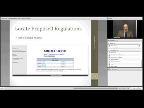 Colorado Administrative Law
