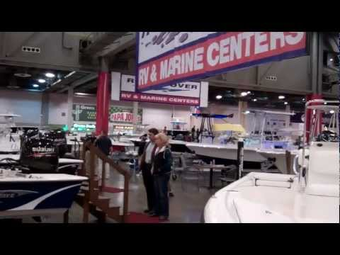 Ron Hoover RV & Marine at the Houston International Boat & Travel Show 2012.mp4