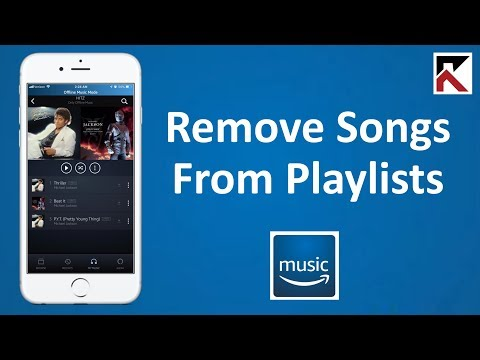 How To Remove Song From Playlist Amazon Music