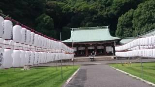 静岡県護国神社境内(2)20170731