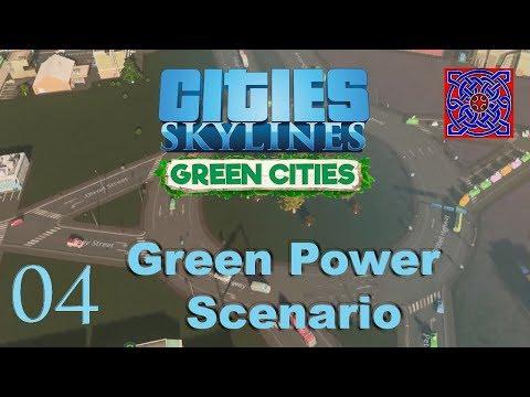 Cities Skylines Green Cities :: Green Power Scenario : # 04 Commercial Growth