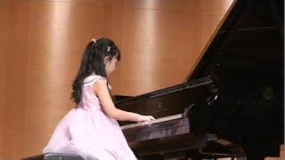 Bach  Sinfonia No.6 in E major BWV792 by Kelly Lin