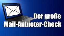 Der große Mail-Anbieter-Check!