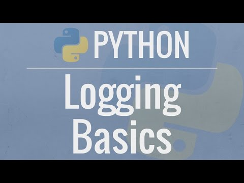 Python Tutorial: Logging Basics - Logging to Files, Setting Levels, and Formatting
