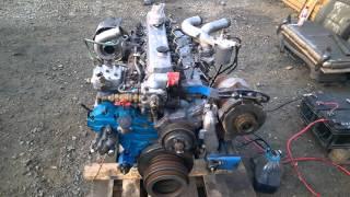 Запуск двигателя D6DA Hyundai Aero Town с замерами давления масла(Автобус/Легковой/Грузовик/ Hyundai: Grace - D4BF D4BA D4BX.С электронным ТНВД, с механическим ТНВД. Starex - D4BH D4BB D4BF D4CD 145..., 2015-12-03T00:41:41.000Z)