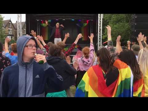 Main Stage At Sheffield Pride 2018