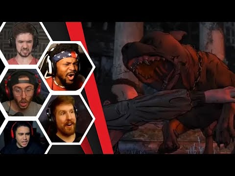 Let's Players Reaction To Being Rescued By Rosie | The Walking Dead: Final Season |
