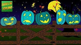 Скачать 5 Little Pumpkins Sitting On A Gate Song Teal Pumpkin Project Version For Food Allergy Awareness