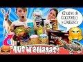 🐨¡¡CHUCHES Australianas RARAS!! 🐨DULCES y Snacks de Canguro, Pepinillo, Hamburguesa, Pizza...s