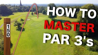 3 tips you NEED to know to play Par 3's BETTER!